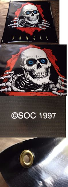 Posters 58127: New 1997 Powell Peralta Ripper 35X35 Vinyl Skateboard Banner Poster Vintage Nos -> BUY IT NOW ONLY: $89.99 on eBay!
