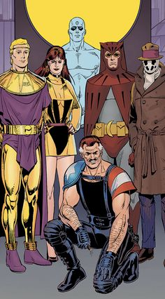 """"""" Watchmen by Dave Gibbons """""""