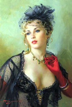 By Konstantin Razumov (born 1974-living), Russian painter
