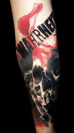 Tattoo Artist - Buena Vista Tattoo Club | www.worldtattoogallery.com/skull-tattoo