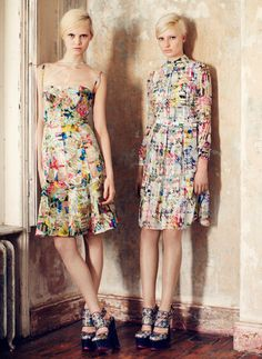 ERDEM Pre-Fall 2013 Collection. Im so in love with Erdem!! How about you?