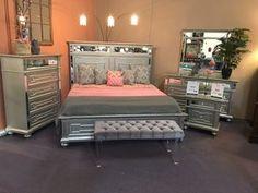 Queen bedroom set Dream Furniture, New Furniture, Queen Bedroom, Online Furniture Stores, Simple, Home Decor, Homemade Home Decor, Interior Design, Home Interiors