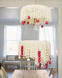 DIY: Tasseled Statement Lamp
