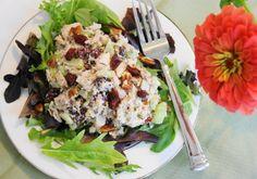 Tarragon Chicken Salad ... such a tasty classic.  www.thekitchenismyplayground.com  #chicken #chickensalad