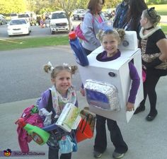 Laundry Time! - 2013 Halloween Costume Contest....hahahahah tori would be mortified but I love it