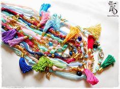 boho necklace - Cerca amb Google