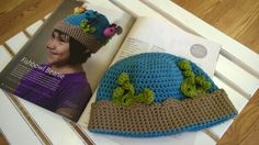 Fishbowl #Beanie #Crochet Along - Tips for adjusting the size on this adorable baby, toddler, or kid's hat