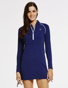 Stylish- practical and super comfortable- SOLBARI&-39-s swim dress and ...
