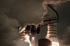 Dan Winters captures the last three Space Shuttle launches in stunning detail