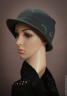 """Шляпы ручной работы. Ярмарка Мастеров - ручная работа Шляпка """"Твист"""". Handmade."""