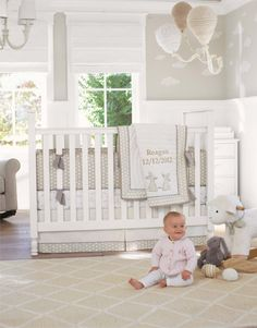 Neutral Nursery Idea 4 | Pottery Barn Kids