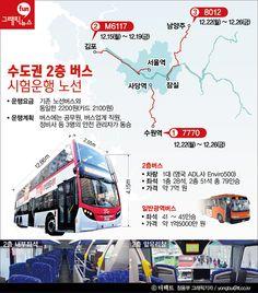 [더팩트ㅣ정용부 기자] 경기도와 서울시를 오가는 2층 광역버스가 8일 첫 운행됐다.  일번광역버스보다 두 배인 79명이 탈 수 있는 2층버스는 총 3개 구간에서 하루 3~4차례, 주 5일간 차례대로 시범 운행된다.   yongbu@tf.co.kr