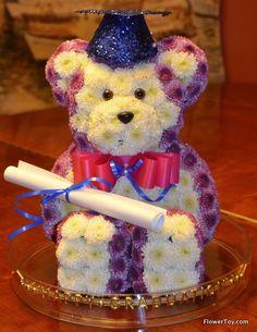 FlowerToy Happy Graduation Bear