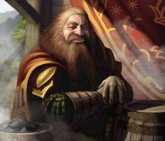Lord of the Rings: TCG - Gimli by AnthonyFoti.deviantart.com on @deviantART