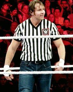 Dean Ambrose as your special guest referee