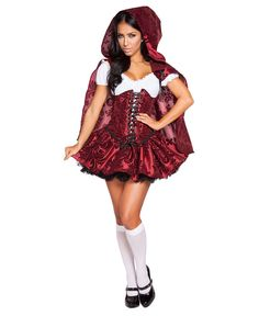 34671a851f0d eBay #Sponsored New Roma Costume 4616 Lusty Lil' Red Costume  Halloweenidéer, Halloween Outfits