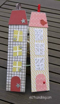 Marques pages 😍 Homemade Bookmarks, How To Make Bookmarks, Felt Crafts, Easy Crafts, Paper Crafts, Diy For Kids, Crafts For Kids, Paper Bookmarks, Free Motion Embroidery