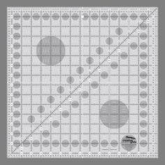 "Creative Grids Quilting Ruler 15-1/2"" Square"