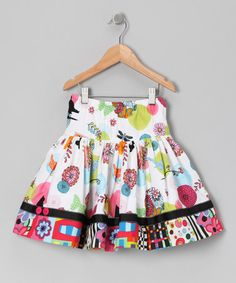 Take a look at this Black & Green Classical Grove Skirt - Toddler & Girls by Smartie Britches on #zulily today!