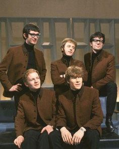 Manfred Mann Color 8x10 Photograph