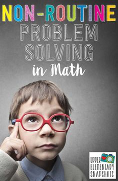 Math problem solving.  How and why to incorporate non-routine problem solving into your instruction.