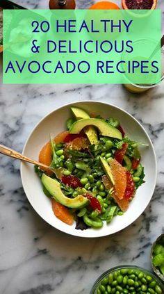 Avocado recipes for days! #ftw