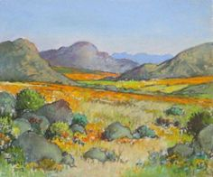 Uitsaaidatum: Woensdag 16 November, Conrad is 'n veelbekroonde skilder en woon in Bellville-Suid. Hy is veral bekend vir sy landskappe en tonele van Distrik Ses. South Africa Art, South African Artists, Post Impressionism, Contemporary Landscape, Famous Artists, Natural World, Watercolor Art, Art Gallery, Abstract