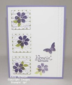 Marvelously Purple by Technique_Freak - Cards and Paper Crafts at Splitcoaststampers bloomin marvelous