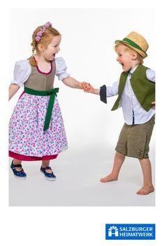 Salzburger Heimatwerk - Entdecke hochwertige Dirndl, Lederhosen, Strickjacken und  Westen für Kinder. Apron, Style, Fashion, Breien, Kids, Women's, Swag, Moda, Stylus