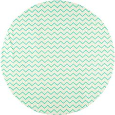 Nobodinoz tapijt Apache zigzag groen
