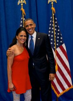 Sheila E. The Boss Of Percussion With President Obama
