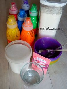 Puffy Painted - Recipe Bulking paint in microwave - child baby leisure