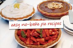 easy no-bake pie recipes