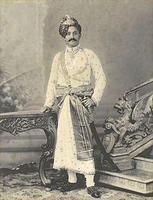 Ranjitsinhji circa 1910 - Ranjitsinhji (1872 – 1933),  often known as Ranji, was the ruler of the Indian princely state of Nawanagar from 1907 to 1933, as Maharaja Jam Saheb.