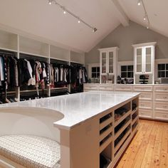 island - wow. Storage and Closets Design Ideas, Remodels and Pictures