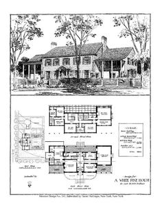 Home builder 39 s plan book multi story living pinterest for House plans with maids quarters