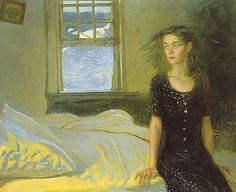 Jamie Wyeth If Once You Have Slept - another great figurative narrative painting