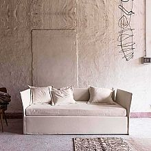 Italian sofa bed with cot/drawers/storage PQ XL by Veneran