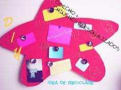 corcho + chinches personalizados DIY (reciclando ando)