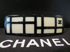 BRAND NEW AUTHENTIC CHANEL LOGO LARGE HAIR BARRETTE HEADBAND. Get the lowest price on BRAND NEW AUTHENTIC CHANEL LOGO LARGE HAIR BARRETTE HEADBAND and other fabulous designer clothing and accessories! Shop Tradesy now