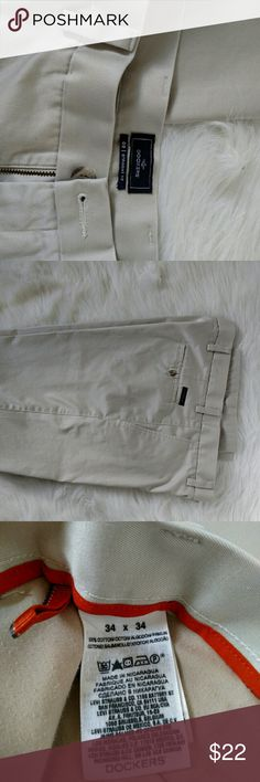 Men's Dockers dress pants 34 Dockers D2 casual dress pants.  Used handful of times, no issues. 34 x 34 size Dockers Pants Chinos & Khakis