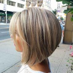 balayage short blonde