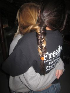 Best friend braid.(: