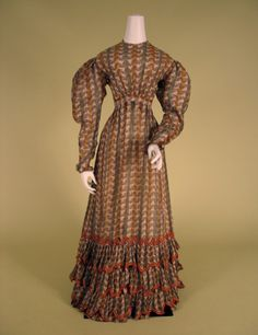 1820s ___ Dress ___ Cotton Gauze ___ from The Tasha Tudor Collection at 2012 Whitaker Auction