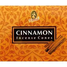 Kamini Incense Cones - Cinnamon - The Hippie House Hippie House, Incense Cones, Cinnamon, Essential Oils, Fragrance, Calm, Feelings, Canela, Perfume