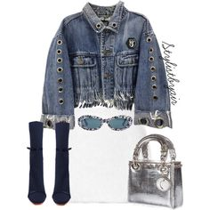 Untitled #6667 by unknown89 on Polyvore featuring Rodarte, Christian Dior and Chanel