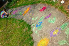 Sidewalk Butterfly Garden - Inner Child Fun