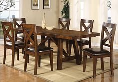 Shop for a Mango 5 Pc Dining Room at Rooms To Go. Find Dining Room Sets that will look great in your home and complement the rest of your furniture.
