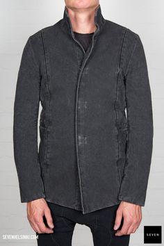 Boris Bidjan Saberi BBS SUIT3-F176 901 € | Seven Shop Leather Jacket, Jackets, Shopping, Black, Fashion, Studded Leather Jacket, Down Jackets, Moda, Leather Jackets