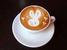 Cafe in Higashihiroshima latte art cafe Crema - Cafe in Higashihiroshima art cafe Crema-Latte art - Coffee Latte Art, Coffee Cafe, Art Café, Watermelon Art, Watermelon Carving, Cappuccino Machine, Cappuccino Art, Food Garnishes, Italian Coffee